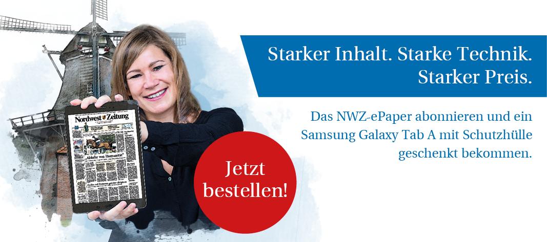 NWZ-ePaper inkl. Galaxy Tab A 10.1