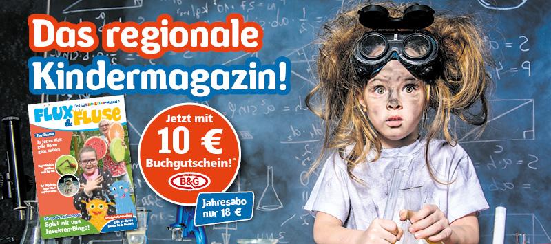 Flux&Fluse - Das Magazin im Jahresabo inkl. 10€ Buchgutschein