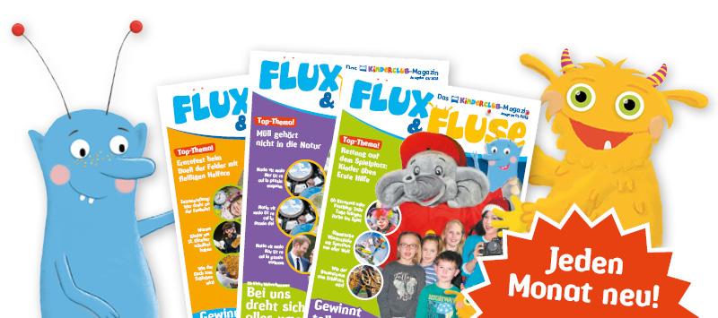 Flux&Fluse - Das NWZ-Kinderclub Magazin