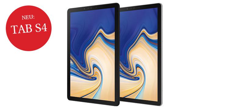 NWZ-ePaper inkl. Galaxy Tab S4 64 GB